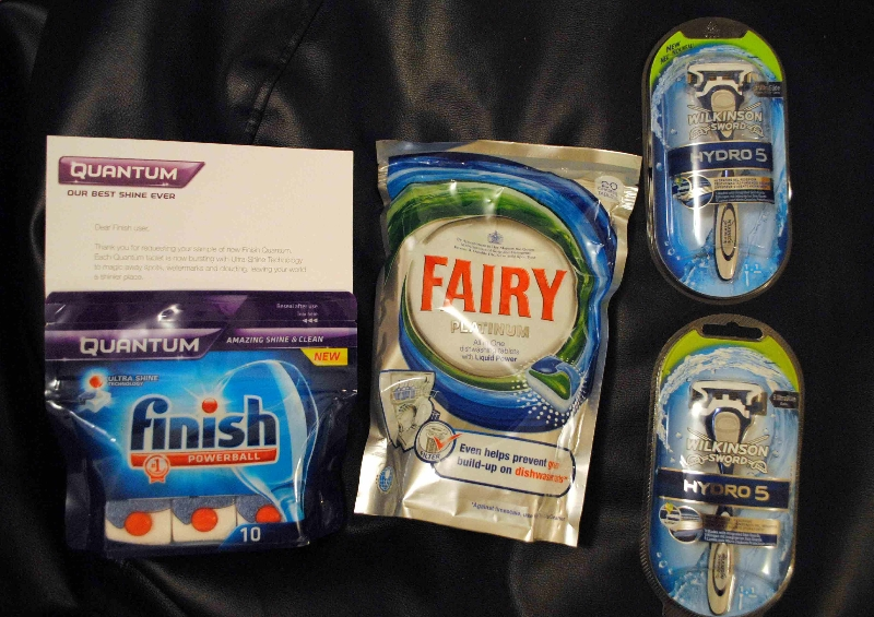 Free Fairy diswasher tablets and Free finish diswasher tablets