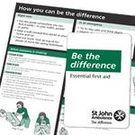 St johns ambulance free first aid book