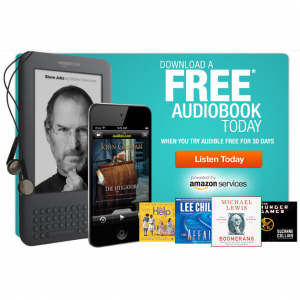 Audible – Download FREE Audiobook | LatestFreeStuff co uk