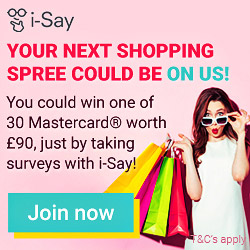 Win a £90 Shopping Spree