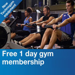 Free 1 day gym pass with LA fitness