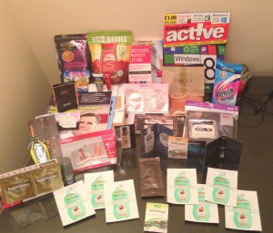 Loads of freebies in last 2 months