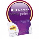 Get 100 Free Nectar Points - Worth 50p