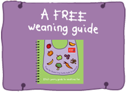 Free Weaning Guide and Voucher Booklet
