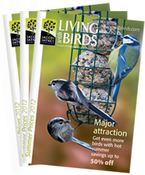 Free 'Living With Birds' Catalogue