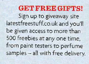 womans own latestfreestuff freebies