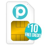 people's operrator sim £10 credit