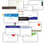 free Easy Print business cards