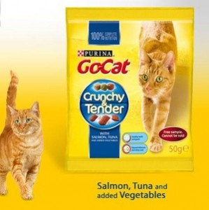 free go cat crunchy and tender sample