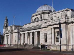 Caption: National Museum Cardiff, Wales. Founded in 1905