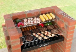 brick barbeque
