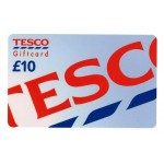 tesco £10 gift card for £5