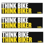 Free Think Bike Stickers