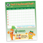 <b>Free Fruit &amp; Veg Reward Chart</b>