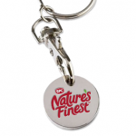 free trolley coin keyring