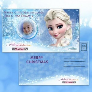 Free Sky Personalised E-Cards