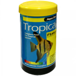 free aqua one tropical fish food