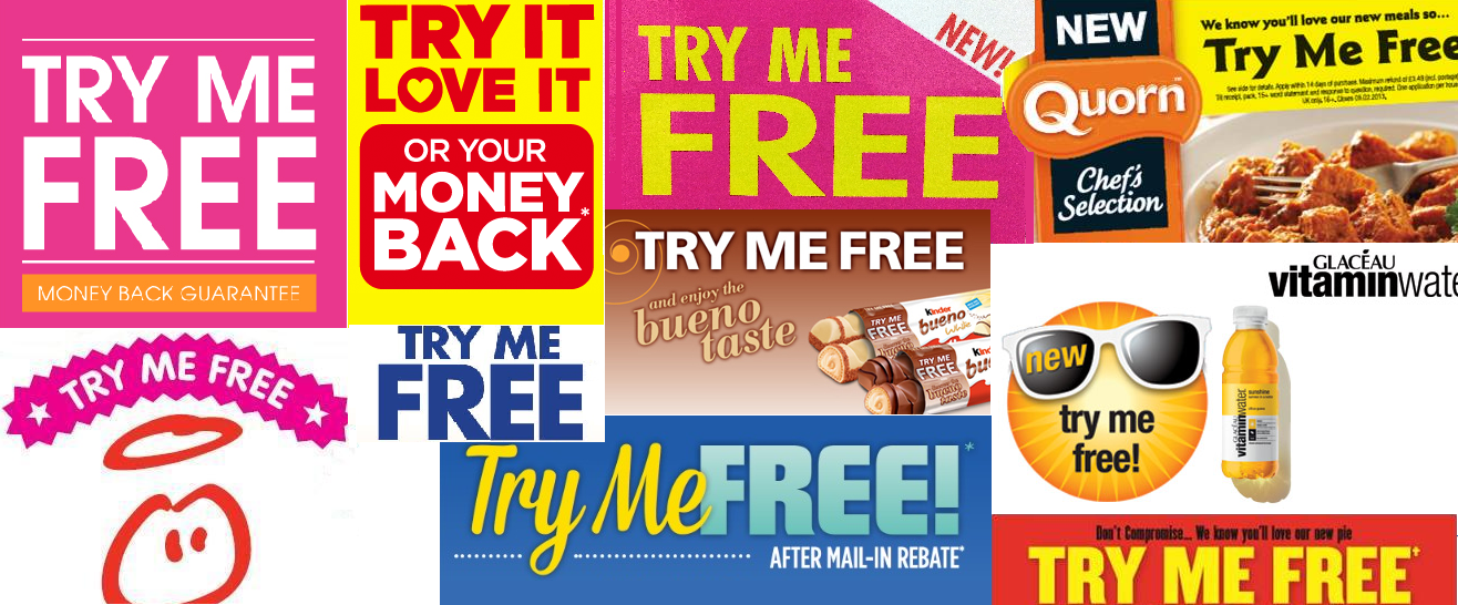 Try me Free images