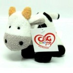 Free Cow&Gate cuddly cow toy