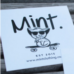 free mint clothing stickers