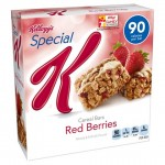 free special k cereal bar