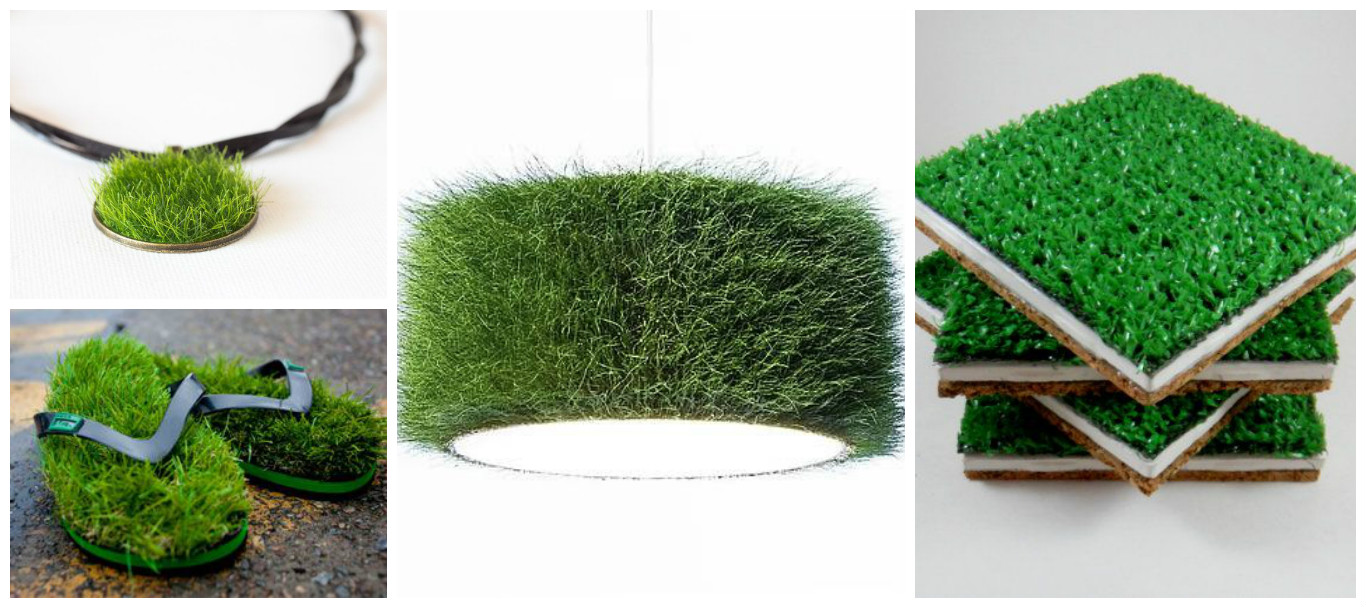 Artificial Grass Crafts Ideas