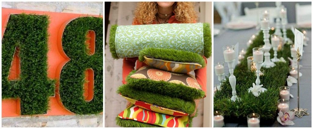 Artificial Grass home decor