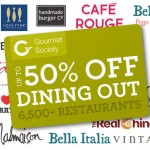 Free Gourmet Society Card - 50% Off Dining Card