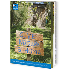 Free RSPB Give Nature A Home Pack