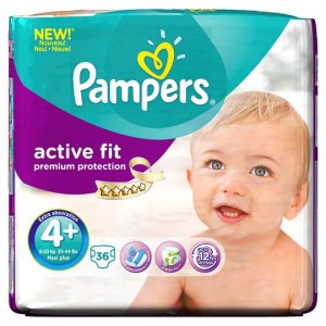 Free Pampers Active Fit Nappies