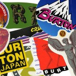 free burton stickers