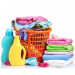 free laundry cleaning and beauty products