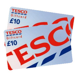 Free £10 Tesco Voucher