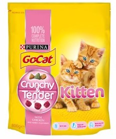 free go-cat crunchy and tender cat food