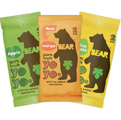 Free Bear Fruit Snack Bars