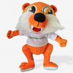 free groo tiger cuddly toy