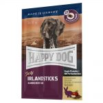 happy dog sticks