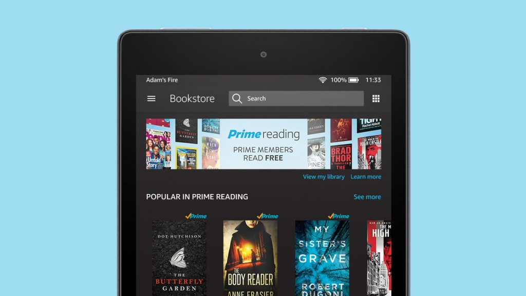 Unlimited Free Books and Magazines from Amazon Prime