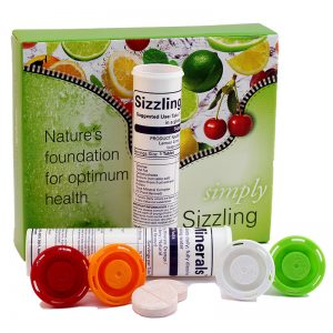 Free Sizzling Minerals Drink Pack