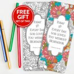 Free Coloring Pencils and Bookmarks