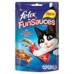 <b>Free Felix FunSauce Cat Food</b>