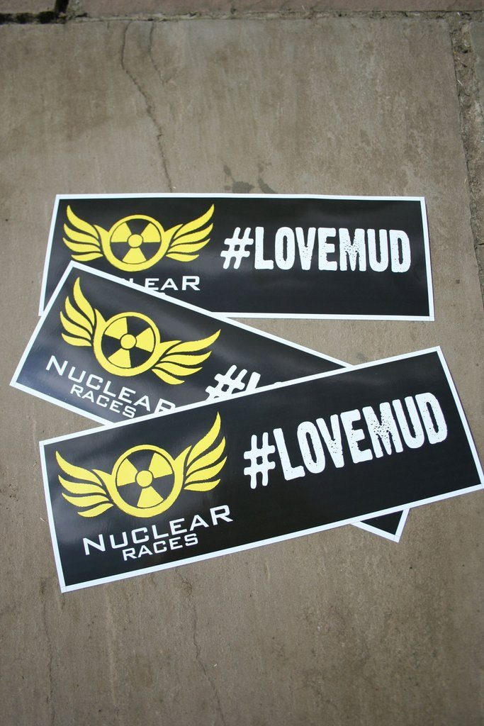 Free Nuclear Car Stickers