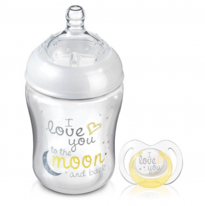 Free Nuby Baby Bottle & Soother