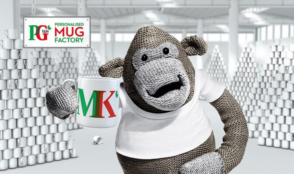 Free Personalised PG Tips Mug