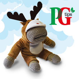 Free Reindeer Monkey Toy