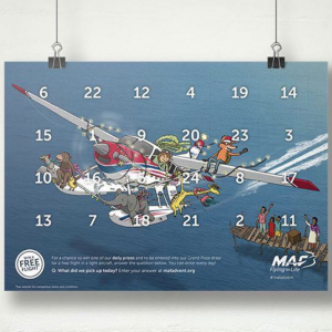 Free Christmas Advent Calendar 2019