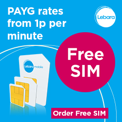 Free Lebara SIM Card | LatestFreeStuff.co.uk