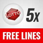 Free lotto tickets