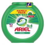 <b>Free Ariel 3 In 1 Washing Pods</b>