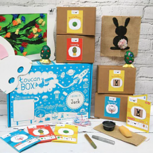 Free easter toucan box for kids
